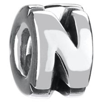 1/2 price- Chamilia Bead -Initial-N-Retired