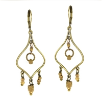 Leverback Chandelier Earrings