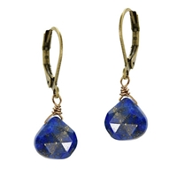 Lapis Dangle Earrings
