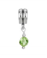 1/2 price-Chamilia Bead-August Birthstone Dangle-Retired