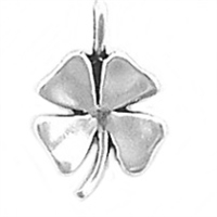 Sterling Silver Charm-Four Leaf Clover