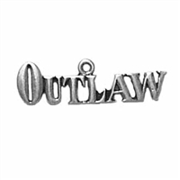 Sterling Silver Charm-Outlaw