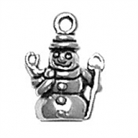 Sterling Silver Charm-Snowman
