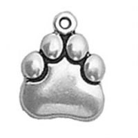 Sterling Silver Charm-Paw Print