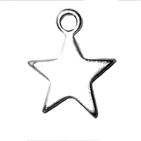 Sterling Silver Charm-Star