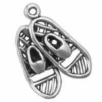 Sterling Silver Charm-Snowshoes