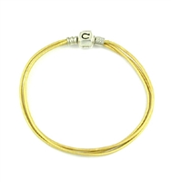 Original CHAMILIA Bracelet-Saffron Leather 7.5 Inches