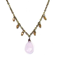 Rose Chalcedony Necklace