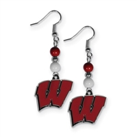 University of Wisconsin- Dangle Earrings