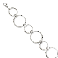 Stainless Steel Circles Bracelet