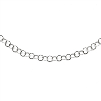 Stainless Steel Fancy Link Chain- 36""