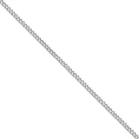 "Stainless Steel Curb Chain- 22""- 3mm"