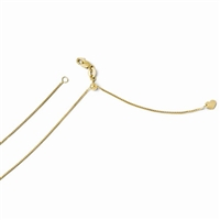 14k Yellow Gold Adjustable Box Chain