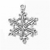 Sterling Silver Charm-Snowflake