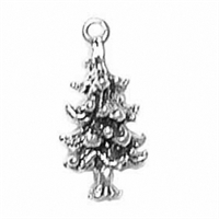 Sterling Silver Charm-Pine Tree