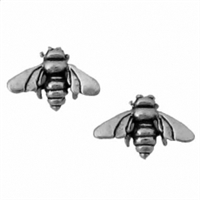 Sterling Silver Post Earring-Bee