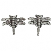 Sterling Silver Post Earring-Dragonfly