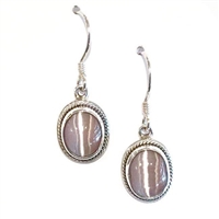 Cat's Eye Dangle Earrings