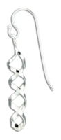 "Sterling Silver ""Mini Corkscrew"" Earrings"