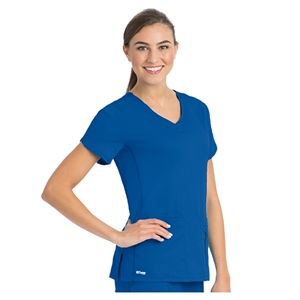 Barco 41423 - 4 Pocket Crossover V-neck