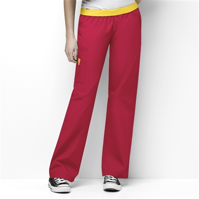 WonderWink 5016 - The 'Quebec' Full Elastic Waistband Pant