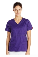 Dickies Medical 817355 - 'Youtility' Contrast Stitch Mock Wrap Top