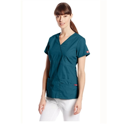 Dickies Medical 85820 - Mock Wrap Top
