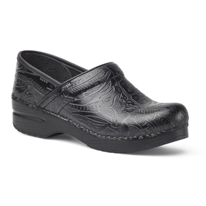 Dansko - Ladies Professional Black Tooled