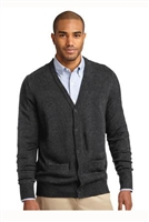 SW302 - Port Authority Value V-Neck Cardigan Sweater with Pockets