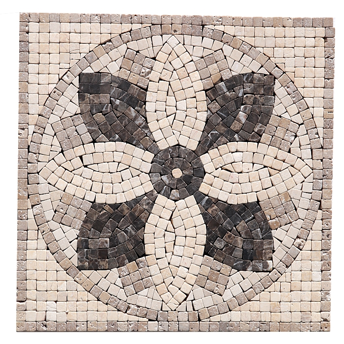 Famous 18X18 Ceramic Tile Tiny 2 By 4 Ceiling Tiles Round 2X4 Suspended Ceiling Tiles 3X3 Ceramic Tile Young 3X6 Travertine Subway Tile Backsplash Orange3X6 White Subway Tile Bullnose Court Micro Flower Panel Medallion   Emperador Crema 12\