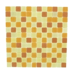 JR International - JR-S03 - 1 X 1 Square Frost Matte Glass Mosaic Blend - ODD LOT SUPER DEAL