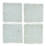 Daltile - Sonterra Glass - SR52 Ice White - 1 X 1 Opalized Glass Tile Mosaic - ODD LOT SUPER DEAL