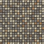 Elysium Milano - Sandy Mini - 5/8 X 5/8 Glass & Slate Stone Mosaic Tile - ODD LOT SUPER DEAL