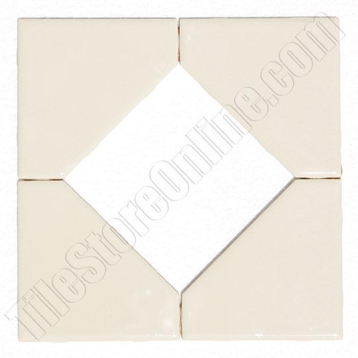 Daltile Fashion Accents 85 X 85 Diamond Insert Fa52 0135