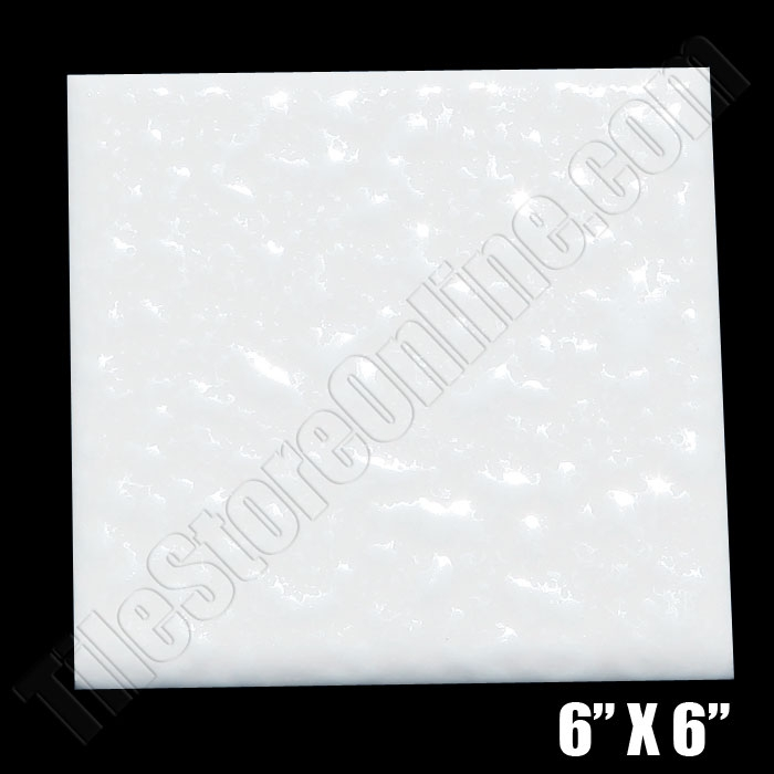 Daltile 0400 Mayan White 6 X 6 Semi Gloss Dal Tile Ceramic Tile