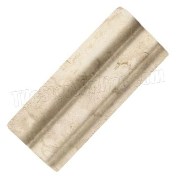 Daltile 2 X 6 Chair Rail Part - 18: Daltile - Brancacci Arena Windrift Beige - 2 X 6 Chair / Counter Rail - Dal  Tile Ceramic Trim Tile