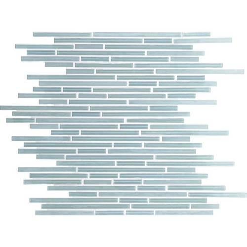 Daltile Caprice Glass Mosaic F Whisper Green X Random - Daltile order samples