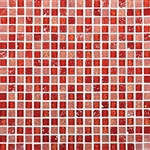 Daltile Marvel Mosaic - MV31 Ruby - 5/8 X 5/8 Glass Tile, Stone, and Metal Deco Tile Mosaic