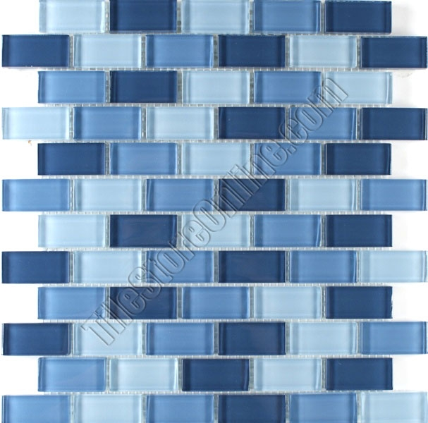 Great 12 X 12 Floor Tile Tiny 12X24 Floor Tile Designs Regular 16X16 Ceramic Tile 2 X 4 Drop Ceiling Tiles Old 2X2 Ceramic Floor Tile Yellow3 X 6 Glass Subway Tile Tile   1X2 Glass Brick Subway Mosaic Tile   SDS056 Blue Blend   Glossy