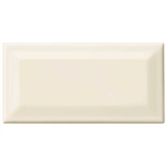 Daltile Rittenhouse Square Bevel - 3 X 6 Subway Brick Beveled Tile - K175 Kohler Biscuit - Gloss Finish - ODD LOT SUPER DEAL