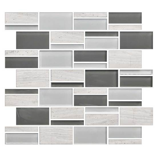American Olean Color Appeal Blends C Mountain Morning Blend - American olean 4x4 wall tile