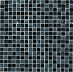American Olean - Legacy Glass - LG48 Mountain Blend - 5/8 X 5/8 Glass & Stone Mosaic Tile - ODD LOT SUPER DEAL