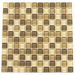 Unicorn - GA1005 - 1 X 1 Square Glass Tile Mosaic - Glossy - ODD LOT SUPER DEAL