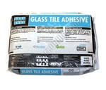 Laticrete Glass Tile Adhesive Thinset -One Step, Non Sag, Polymer-Fortified Thin-Set Mortar - White 25 lb.
