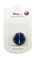 Brushed Ring Holders - Blue