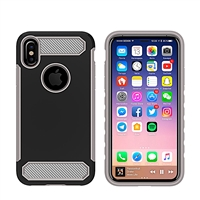 iPhone X CF Armor Case - Black