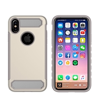 iPhone X CF Armor Case - Gold