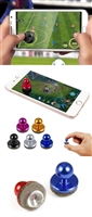 Metal Joy Stick for Touch Screen Devices - Blue