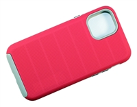 "Wholesale iPhone 12 Mini 5.4"" CF Armor Case - Pink"