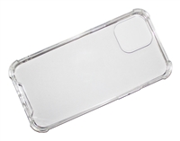 "Wholesale iPhone 12 Pro Max 6.7"" Crystal Case with Edge Bumper - Clear"